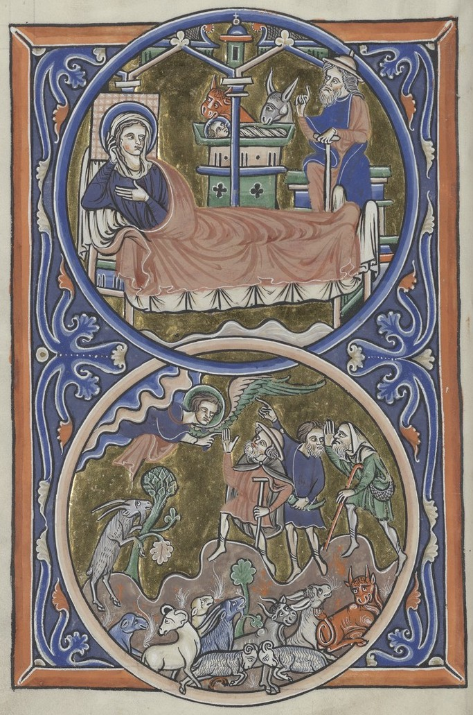Nativity (Sainte-Chapelle Psalter)