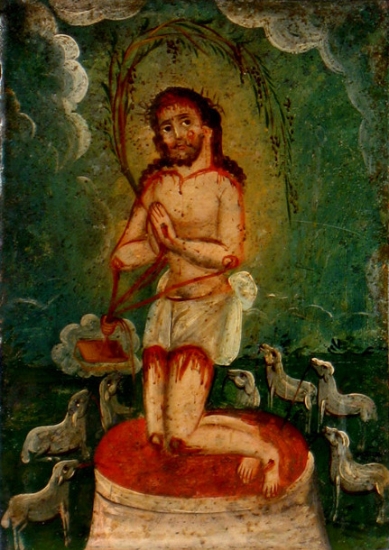 Precious Blood of Christ (retablo)