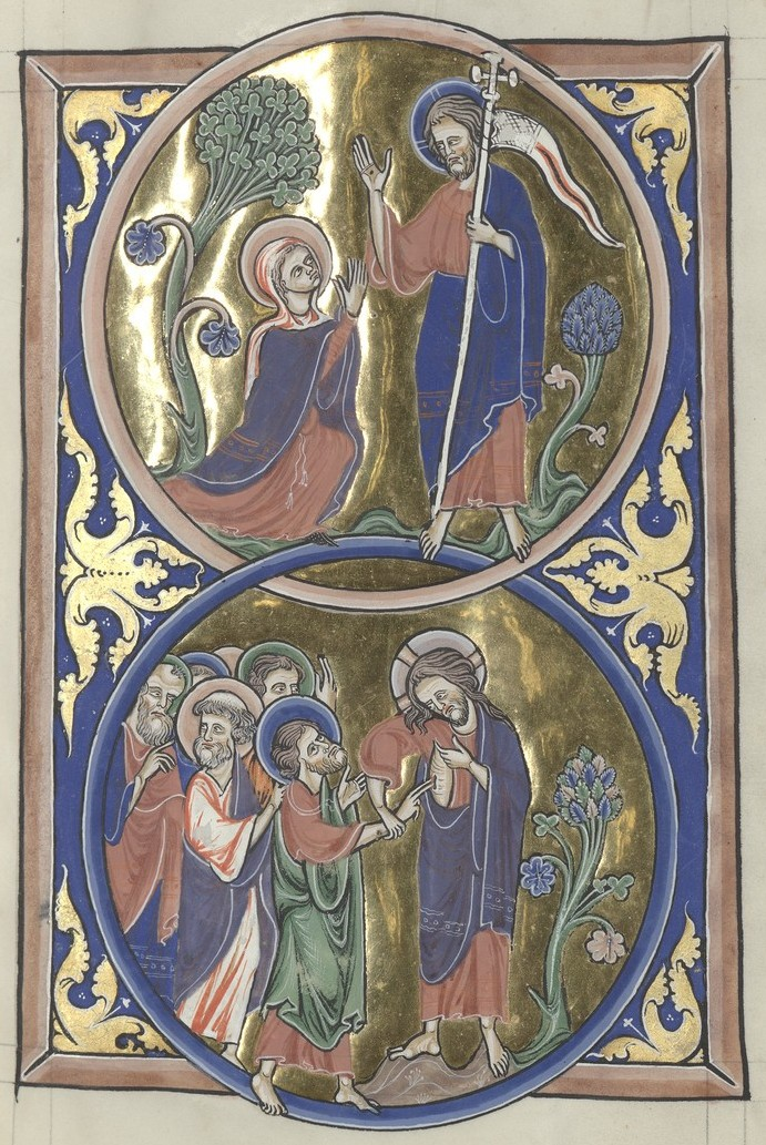 Resurrection Appearances (Sainte-Chapelle Psalter)
