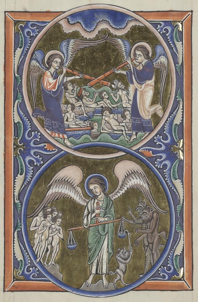 Resurrection of the Dead (Sainte-Chapelle Psalter)
