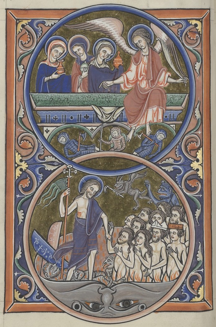 Resurrection (Sainte-Chapelle Psalter)