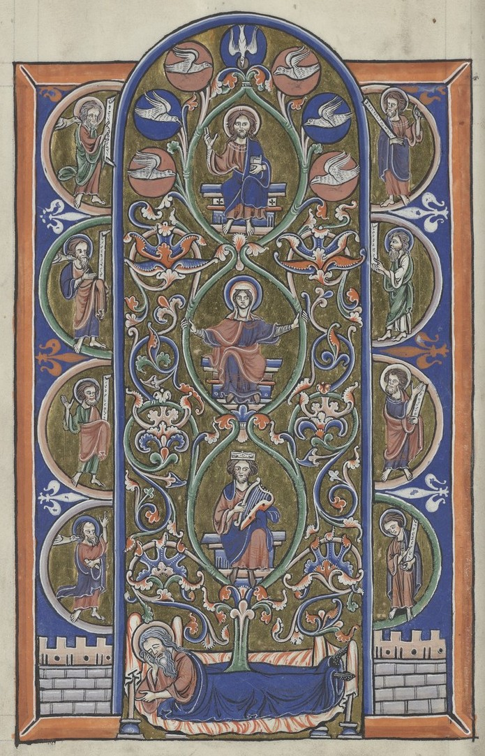 Tree of Jesse (Sainte-Chapelle Psalter)