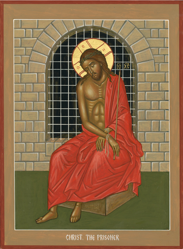 Christ the Prisoner by Nikolai Tsai