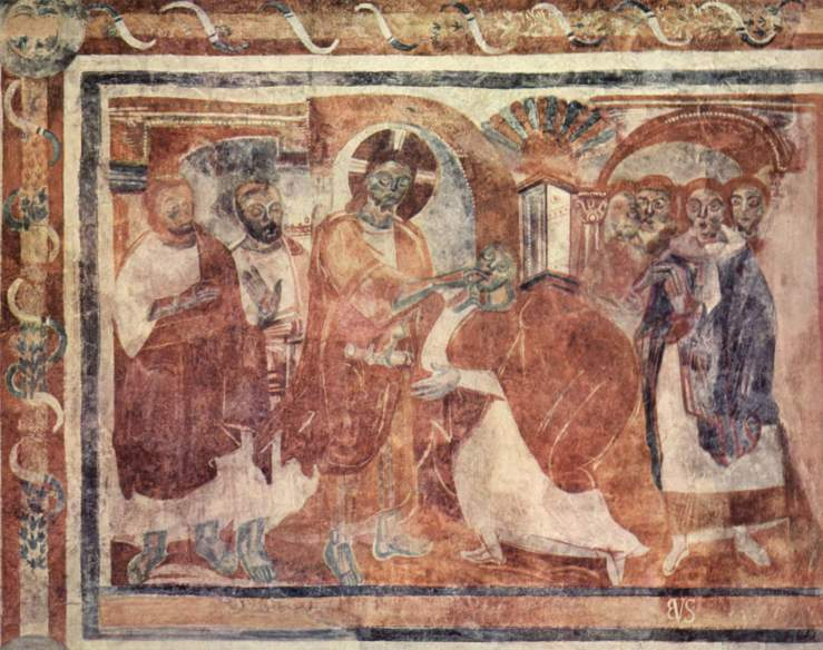 Healing of the Deaf (9th c)