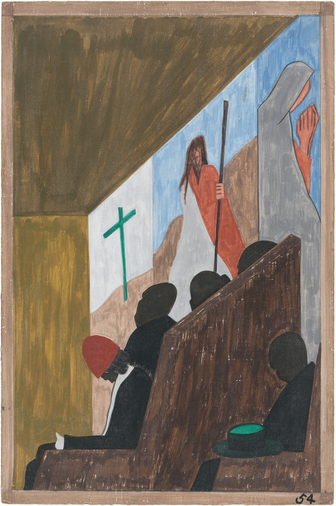 Great Migration 54 by Jacob Lawrence