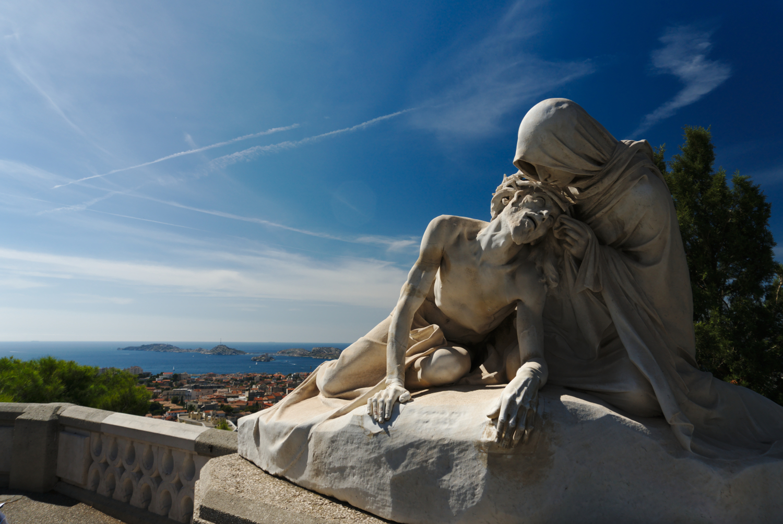 Veronica and Christ (Marseilles)