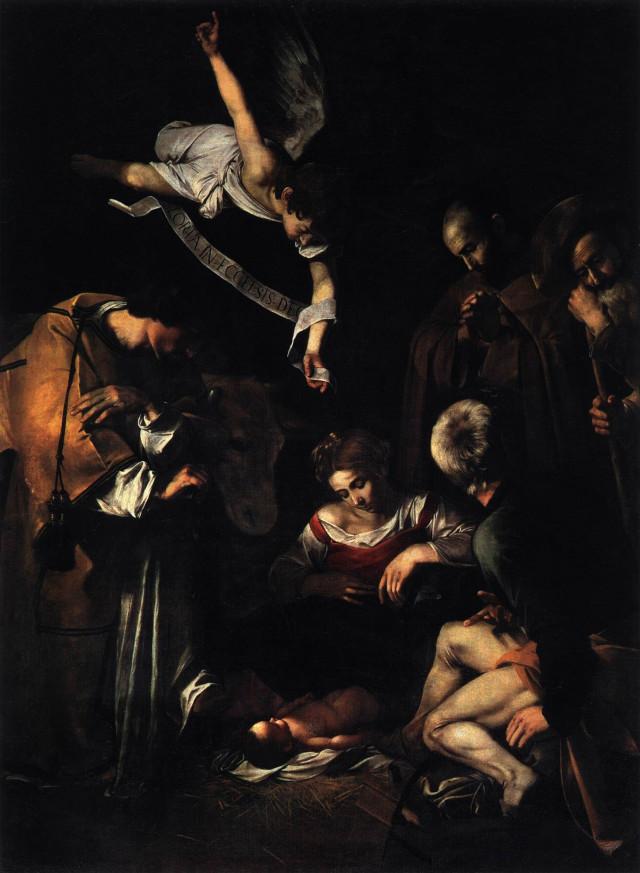 Nativity by Caravaggio