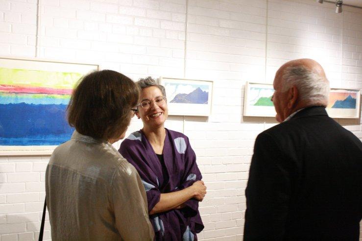 Attending exhibition (Julie Shelton Snyder)