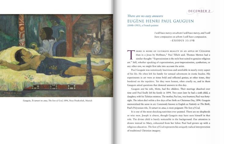 Wounded in Spirit excerpt (Paul Gauguin)