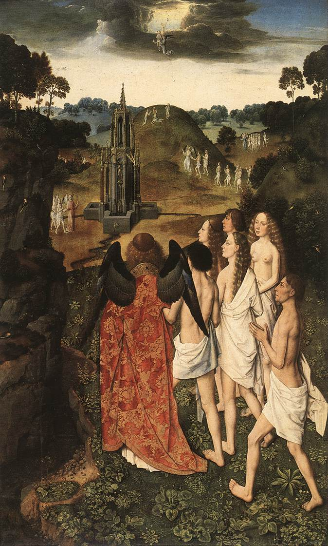 The Way to Paradise by Dieric Bouts