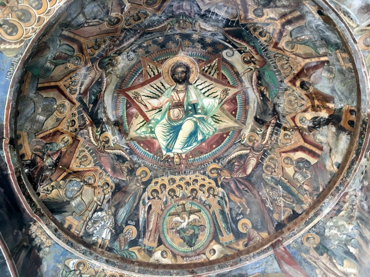 Christ Enthroned (Koutloumousiou Monastery)