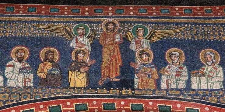Christ exalted (Santa Prassede)