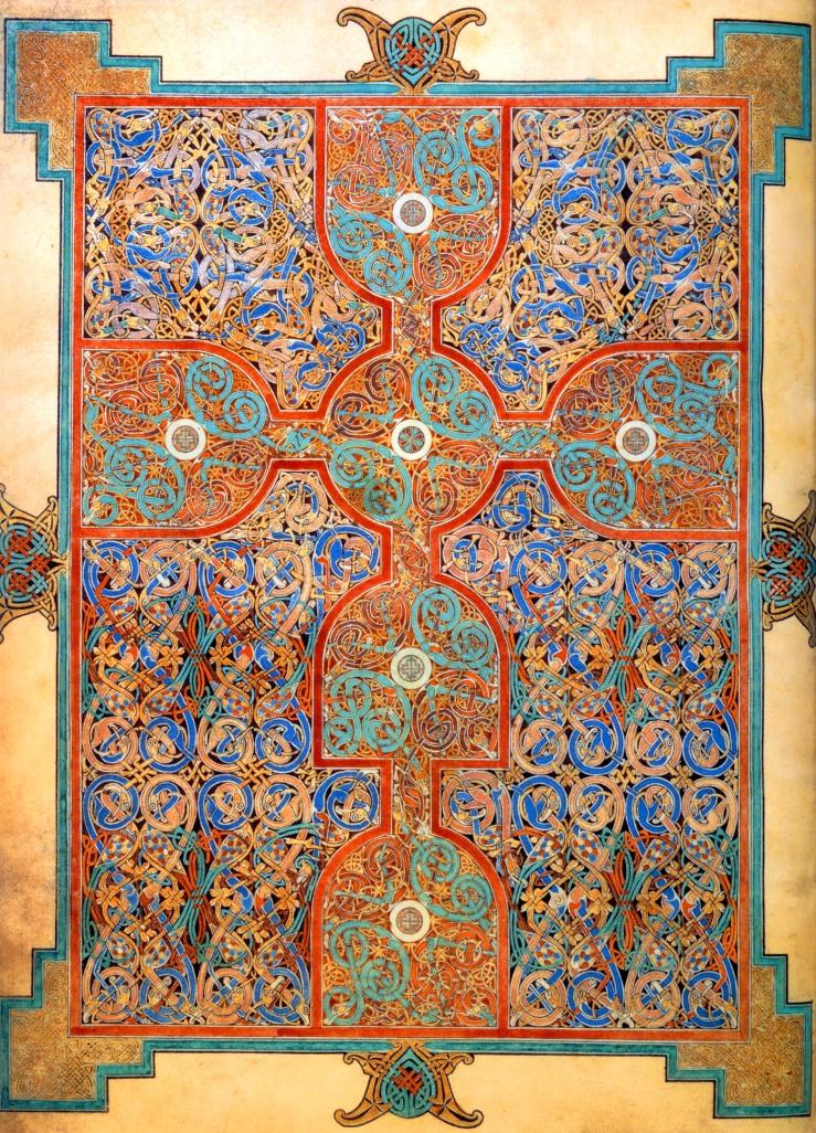 Cross (Lindisfarne Gospels)