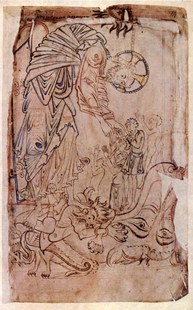 Harrowing of Hell (Tiberius Psalter)