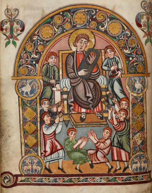 King David and his musicians
