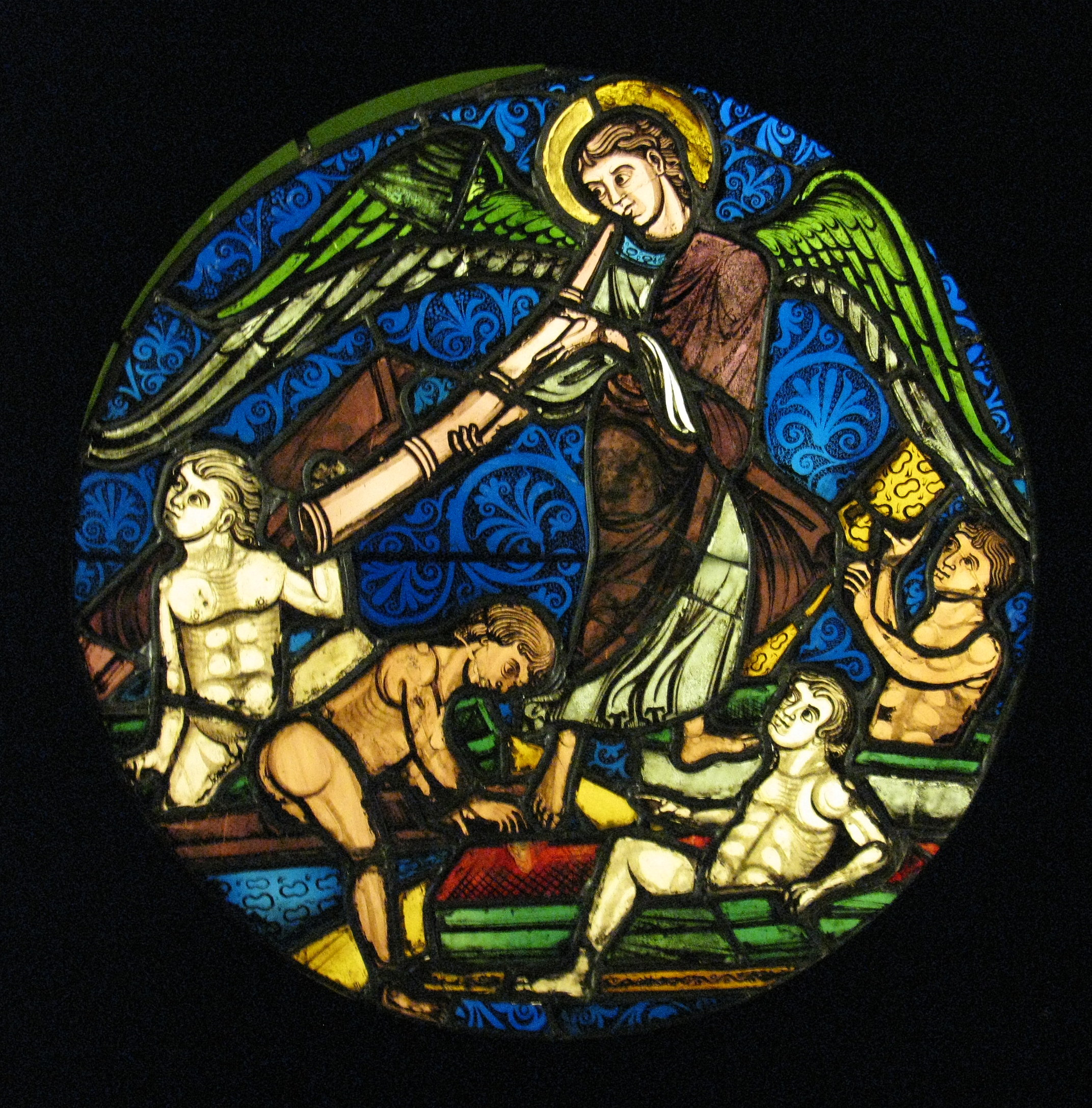 Resurrection of the Dead (stained glass)