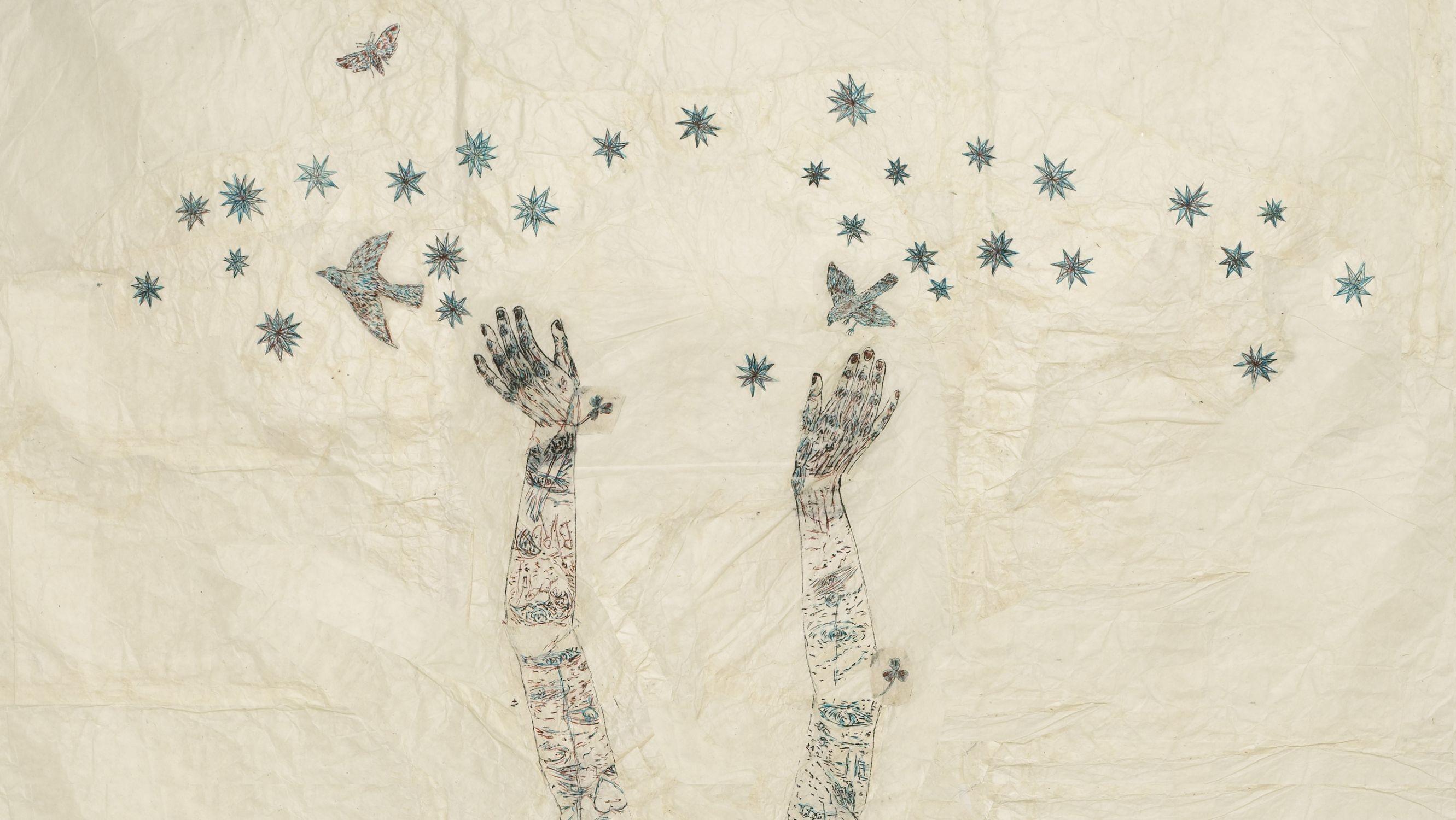 Starry, Starry Night by Kiki Smith