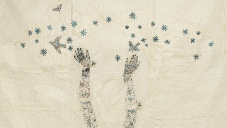 Starry, Starry Night by Kiki Smith