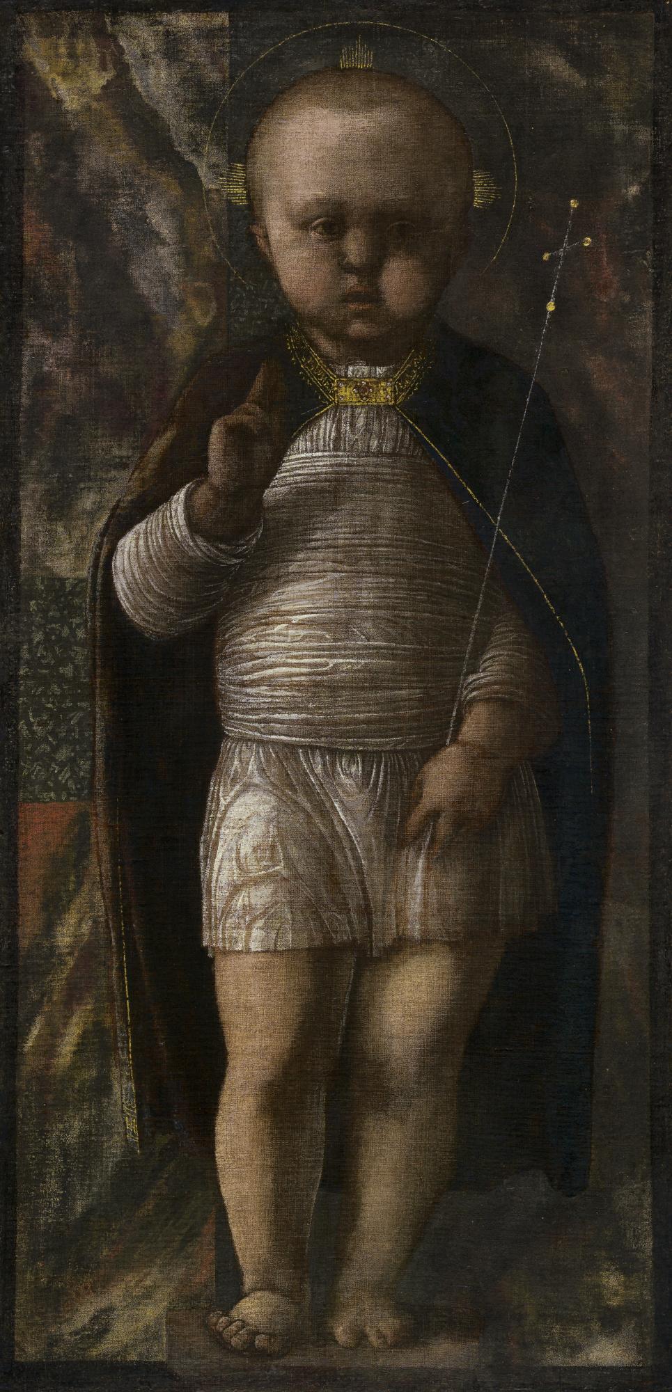 The Infant Savior by Andrea Mantegna
