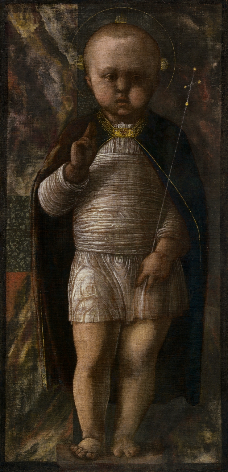 The Infant Savior by Andrea Mantegna