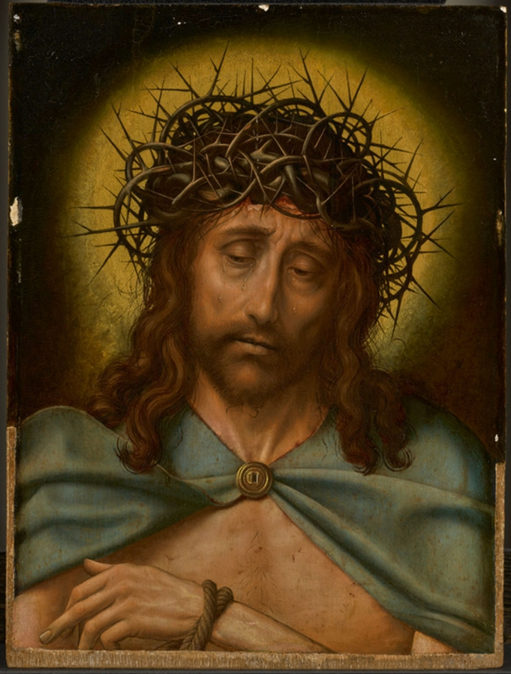 Christ as the Man of Sorrows by Quentin Metsys