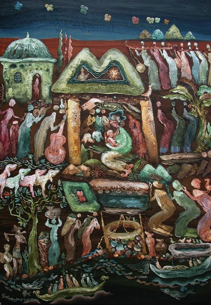 Nativity by Wisnu Sasongko