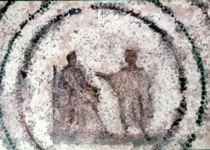 Annunciation (Priscilla Catacombs)