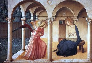 Annunciation by Fra Angelico (San Marco)