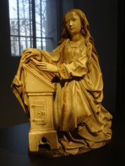 Annunciation (detail) by Tilman Riemenschneider
