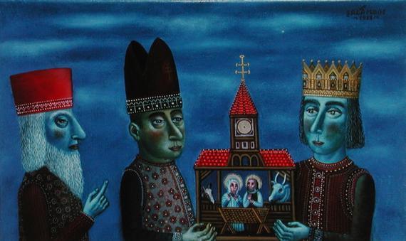 Three Wise Men by Tamas Galambos