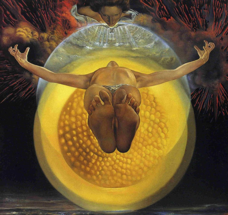Ascension by Salvador Dali