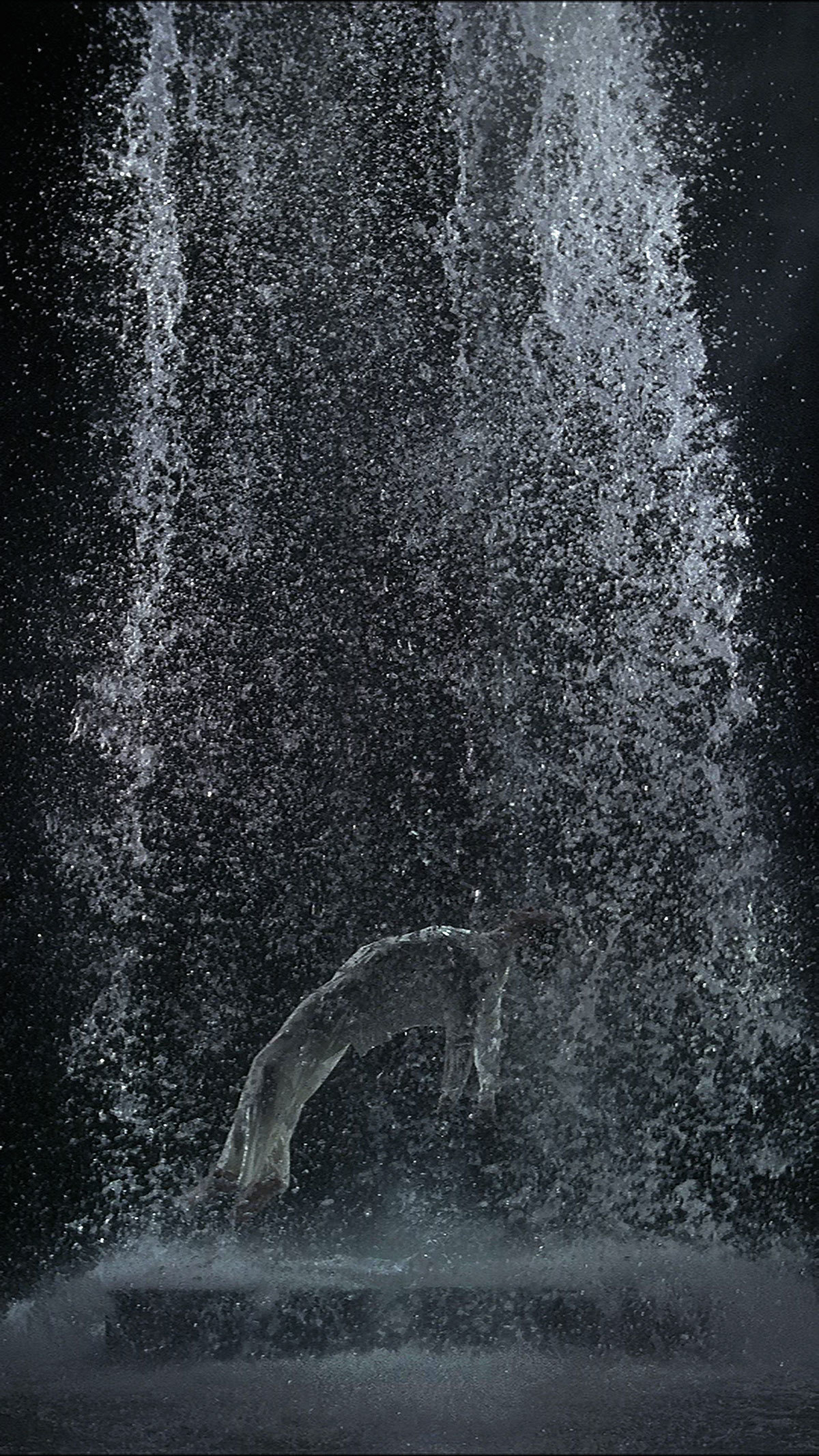 Tristan's Ascension by Bill Viola
