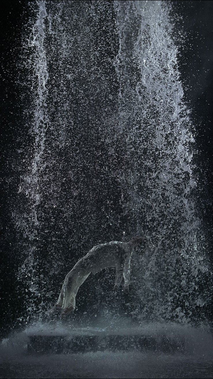 Tristan's Ascension by Bill Viola