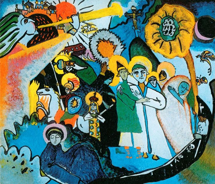 All Saints Day by Wassily Kandinsky
