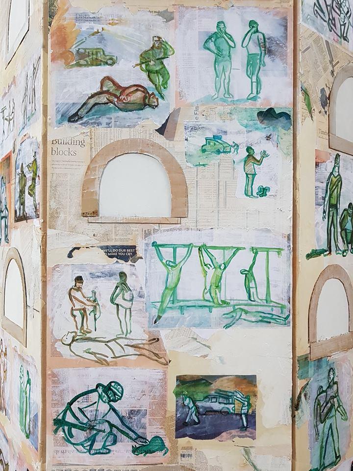 Columbarium (detail) by Masha Trebukova