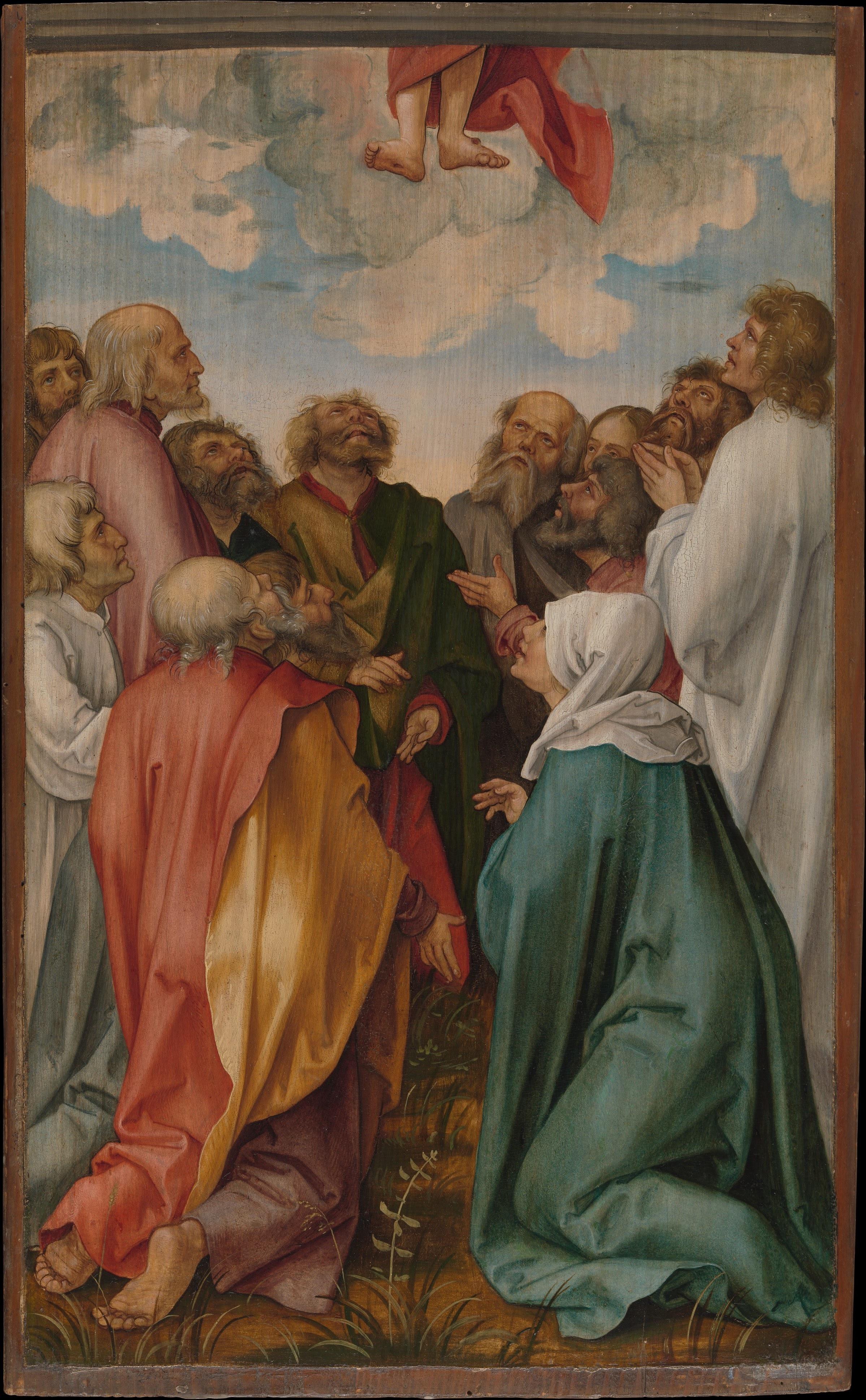 Kulmbach, Hans von_Ascension of Christ