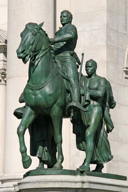 Teddy Roosevelt equestrian statue