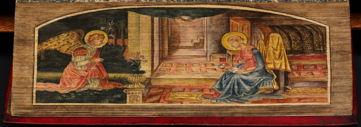 Annunciation (fore-edge painting)