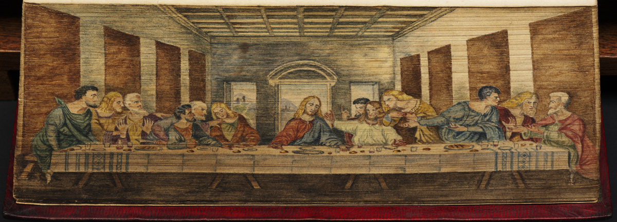 Last Supper (fore-edge painting)