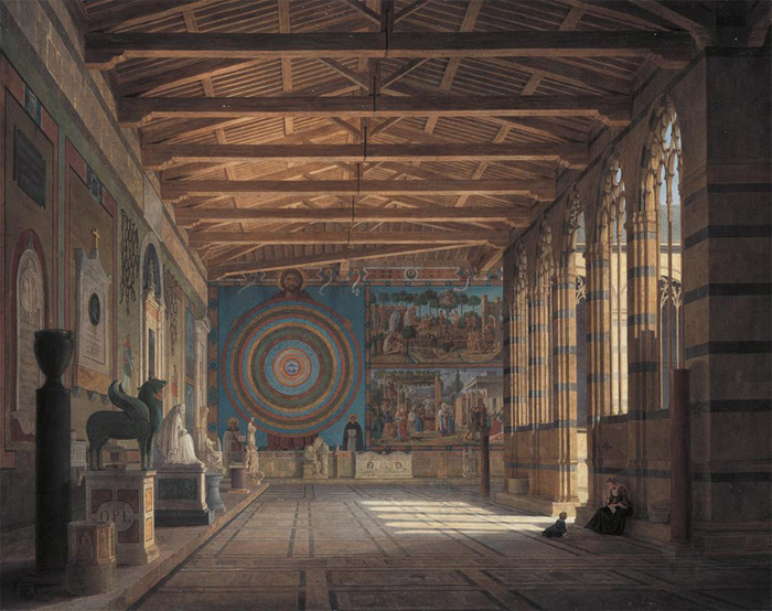 Camposanto, north gallery