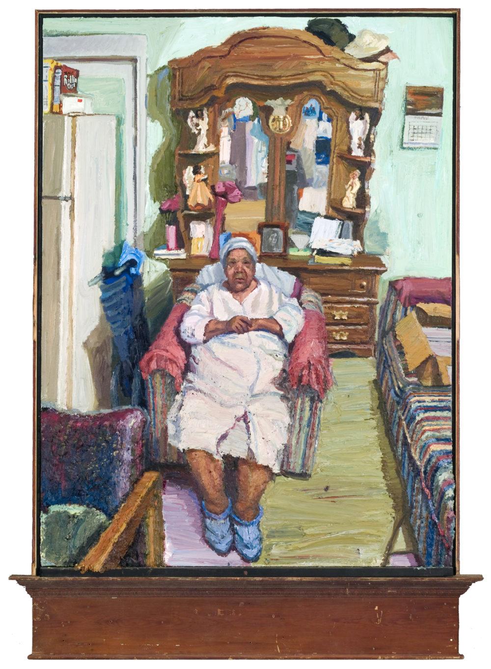 Huckaby, Sedrick_Sitting in Her Room