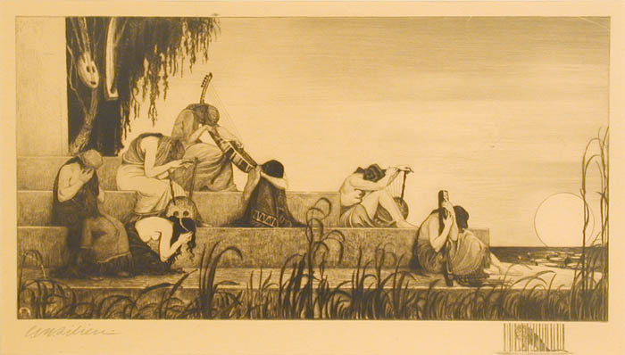 Lilien, Ephraim Moses_By the Rivers of Babylon