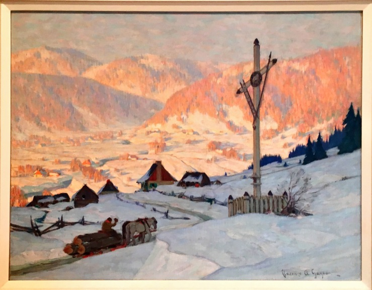 Gagnon, Clarence_The Wayside Cross, Winter