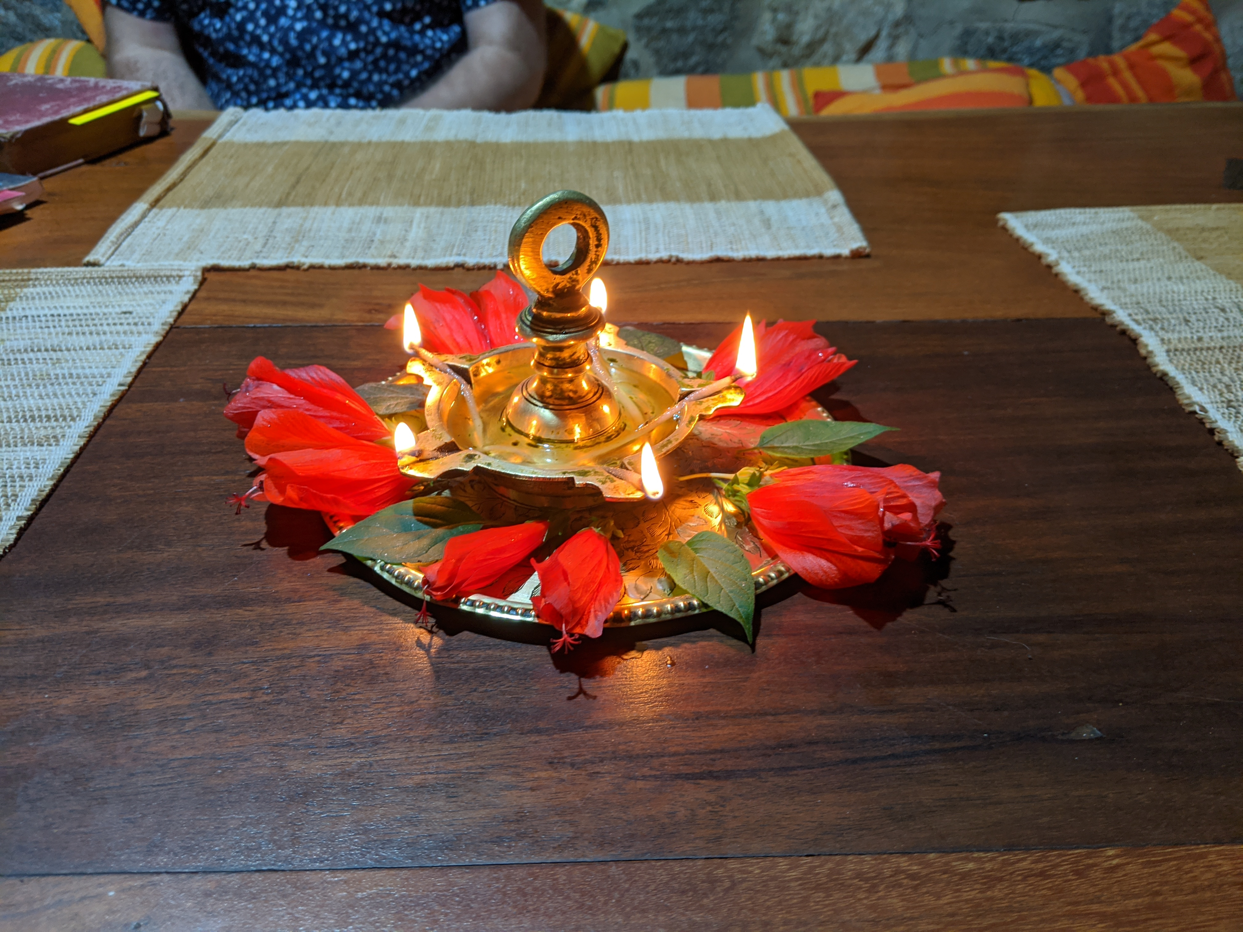 Indian Advent lamp