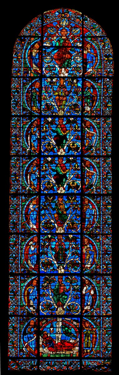 Tree of Jesse (Chartres Cathedral) (full)