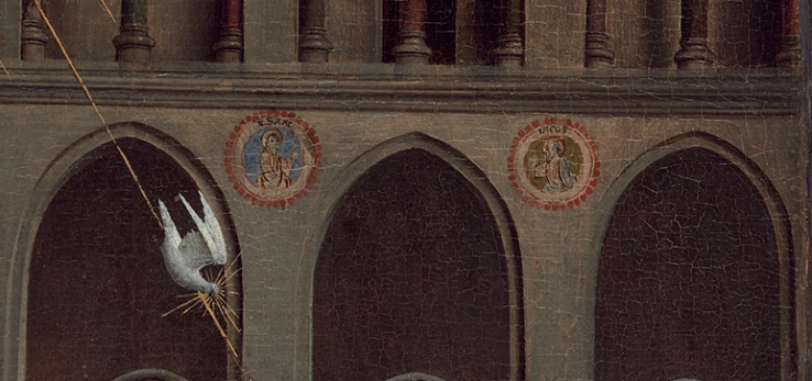 van Eyck, Jan_Annunciation (detail)