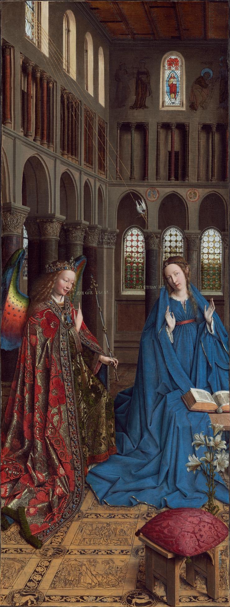 van Eyck, Jan_Annunciation