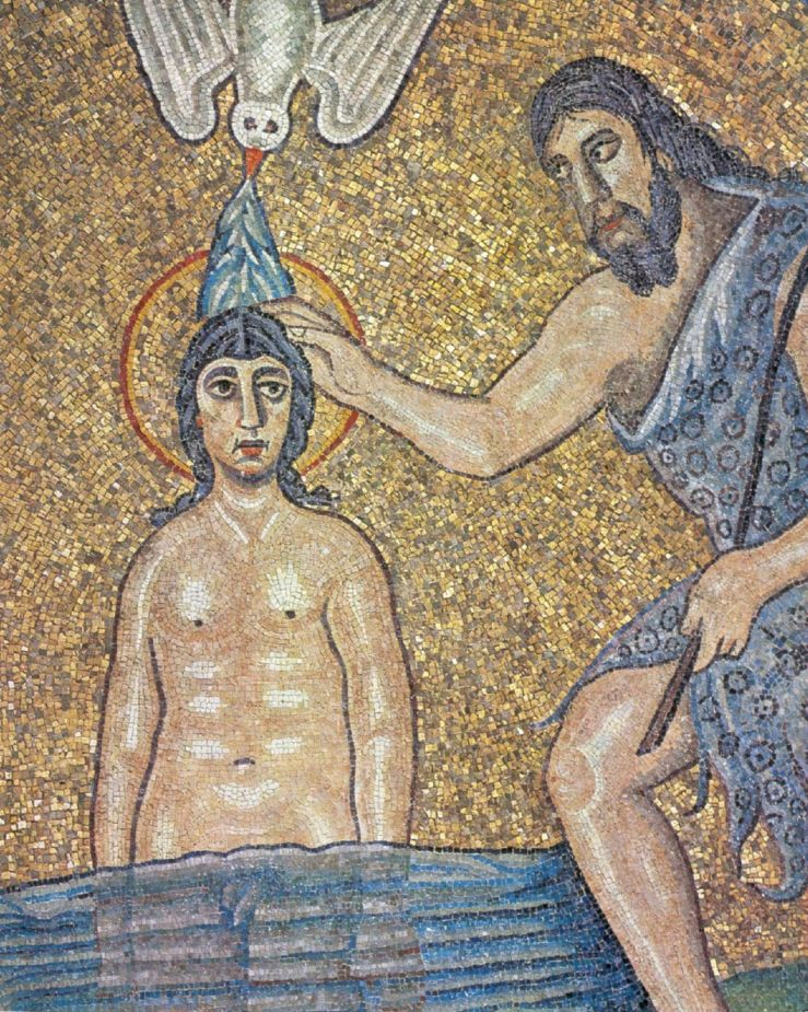 Baptism of Christ (detail)