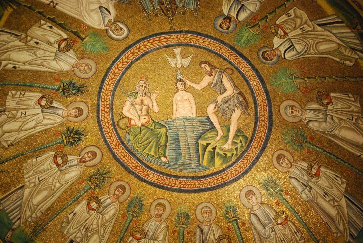 Arian Baptistery mosaic