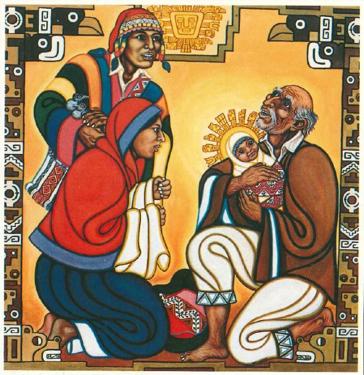 Blanco, Severino_Simeon Blessing the Christ Child